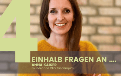 Anna Kaiser, Founder and CEO Tandemploy