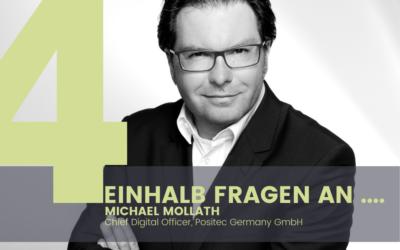 Michael Mollath, Chief Digital Officer Positec Germany GmbH