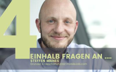 Steffen Manes, CEO von mobileJob.com