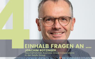 Joachim Rotzinger, Geschäftsführer Business Group Corporations in der Haufe Group