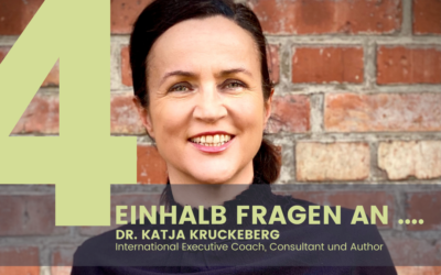 Dr. Katja Kruckeberg, International Executive Coach, Consultant & Author