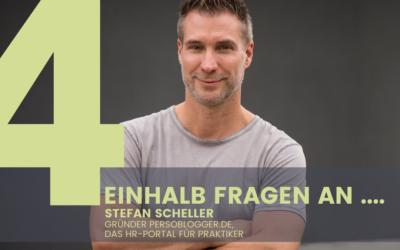 Stefan Scheller, Gründer Persoblogger.de