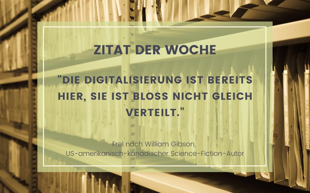 Mehr digitale Transformation, weniger Bürokratie