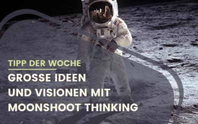 Große Ideen entwickeln mit Moonshoot Thinking